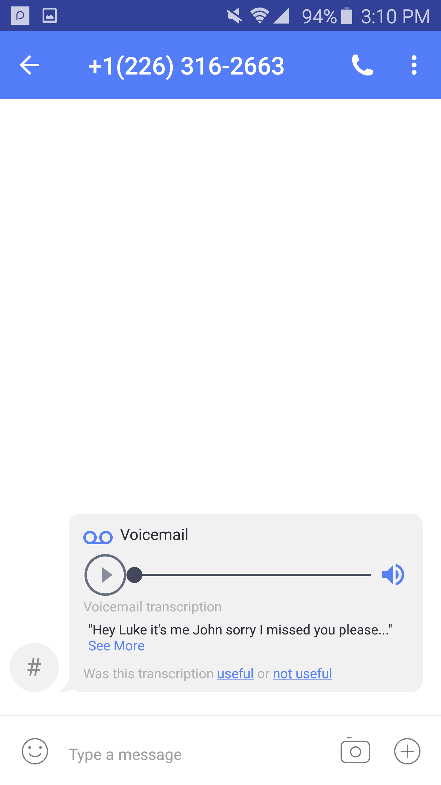 Premium Feature Voicemail Transcriptions Textnow Support